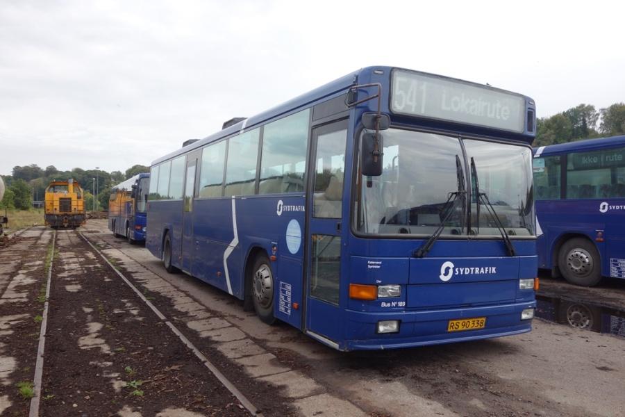 Umove 189/RS90338 på Gammelhavn i Vejle den 1. oktober 2016