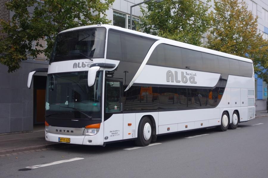 Alba Turist 7/AM95620 på Vejle Trafikcenter den 7. oktober 2016