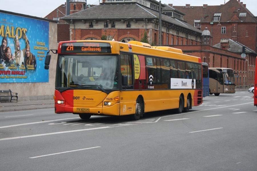 Arriva 1526/TX92525 ved Københavns Hovedbanegård den 8. oktober 2016