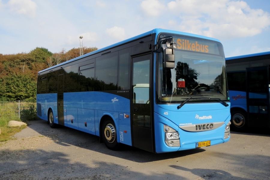 Silkebus 45/BA96419 i Ringkøbing den 16. september 2016
