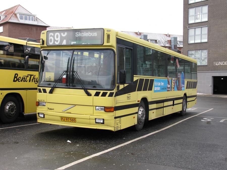 Bent Thykjær 125/PJ97565 på Vejle Trafikcenter den 26. november 2010