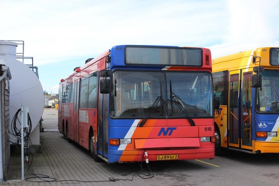 City-Trafik 618/SJ89612 i Aalborg den 6. oktober 2012