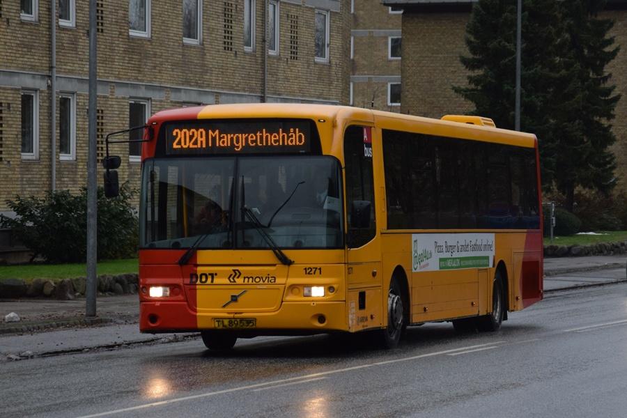 Arriva 1271/TL89535 på Søndre Ringvej i Roskilde den 15. november 2016