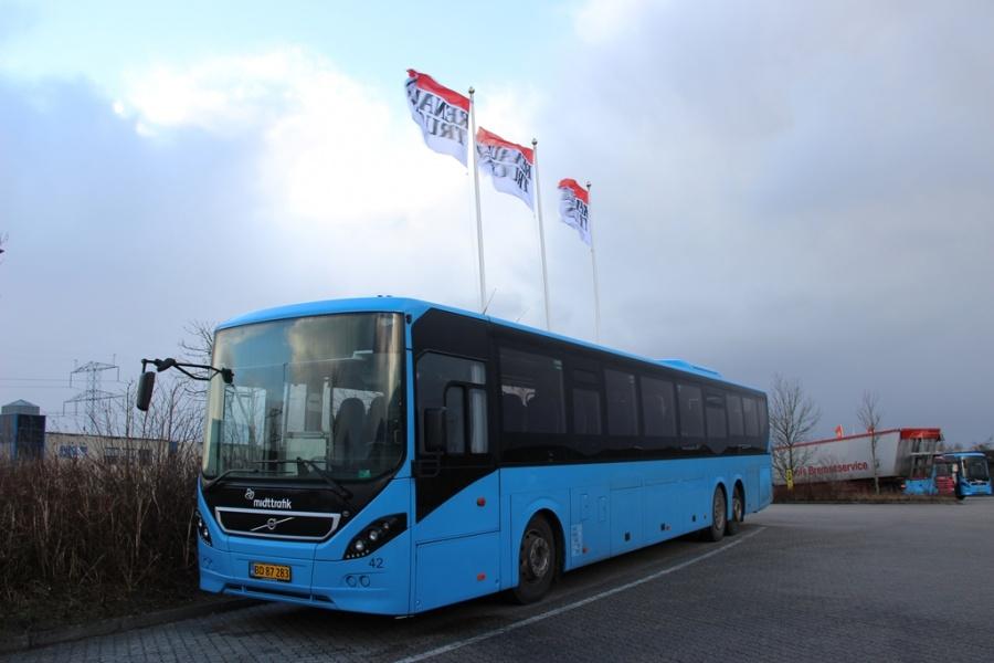 Herning Bilen 42/BD87283 ved Bus Center Vest i Kolding den 26. december 2016