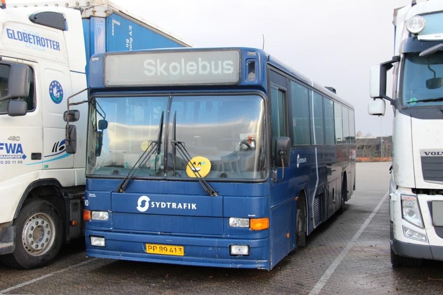 Tide Bus 8890/PP89413 ved Bus Center Vest i Kolding den 26. december 2016