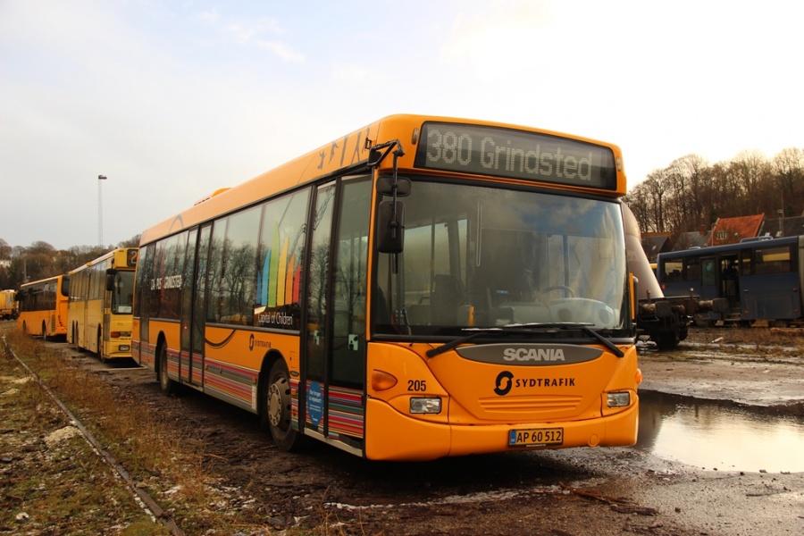Umove 205/AP60512 på Gammelhavn i Vejle den 26. december 2016