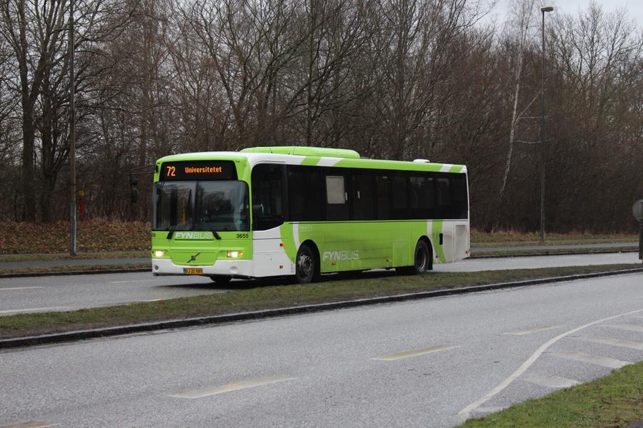 Keolis 3655/BJ21989 i Odense den 20. januar 2017
