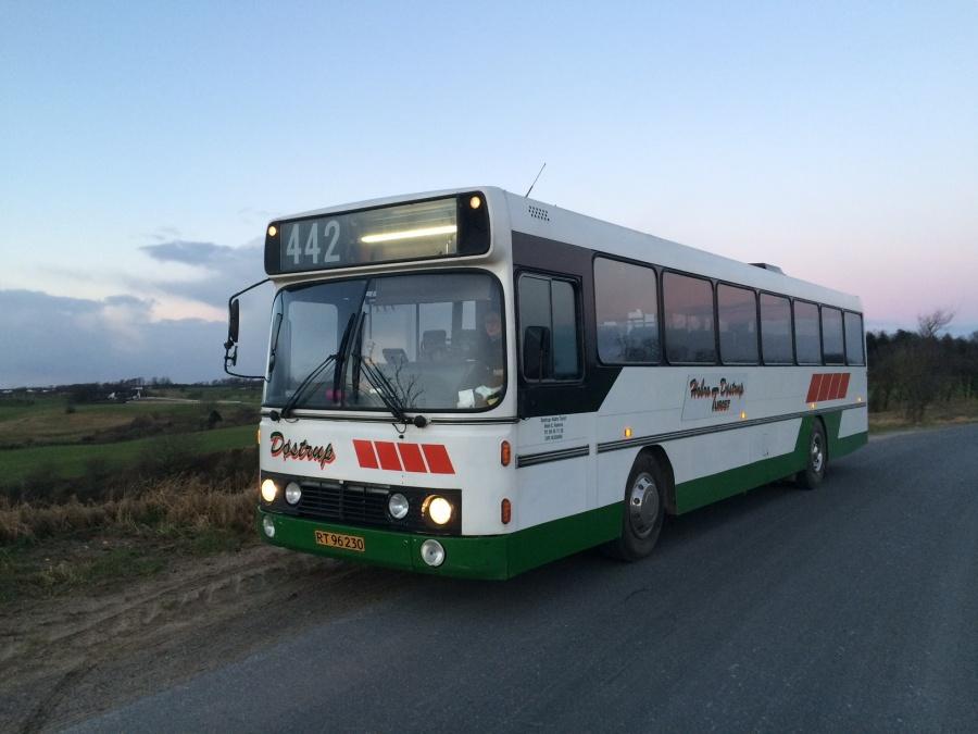 Døstrup Turistfart RT96230 nær Døstrup den 4. januar 2017