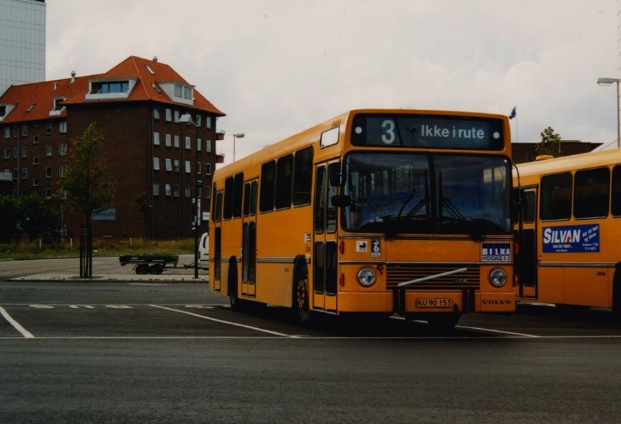 Arriva 3004/KU90153 på Vejle Trafikcenter den 31. august 1999
