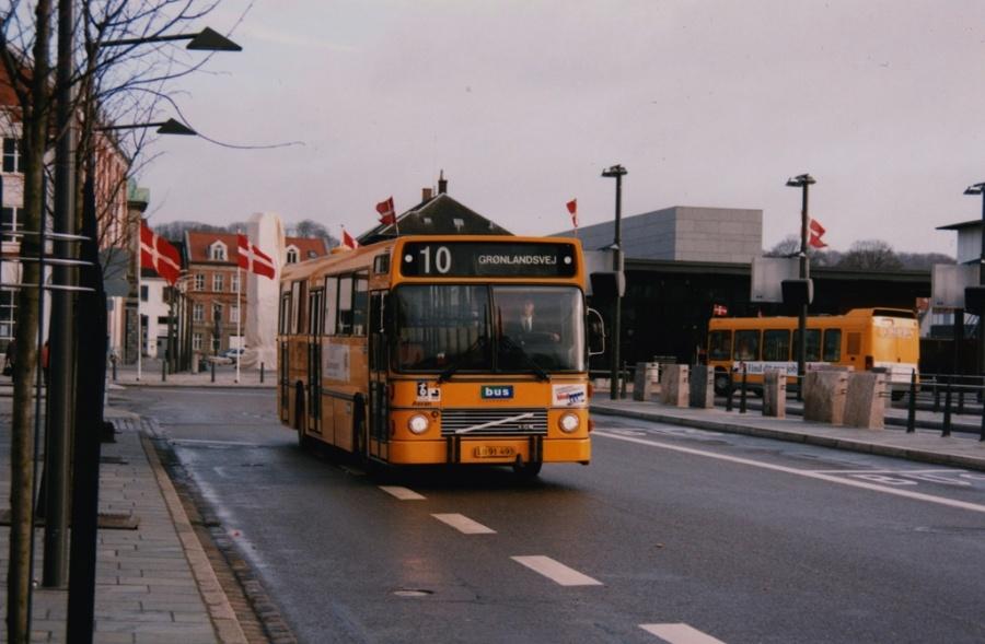 Bus Danmark 3006/LB91493 på Vejle Trafikcenter den 1. marts 1999