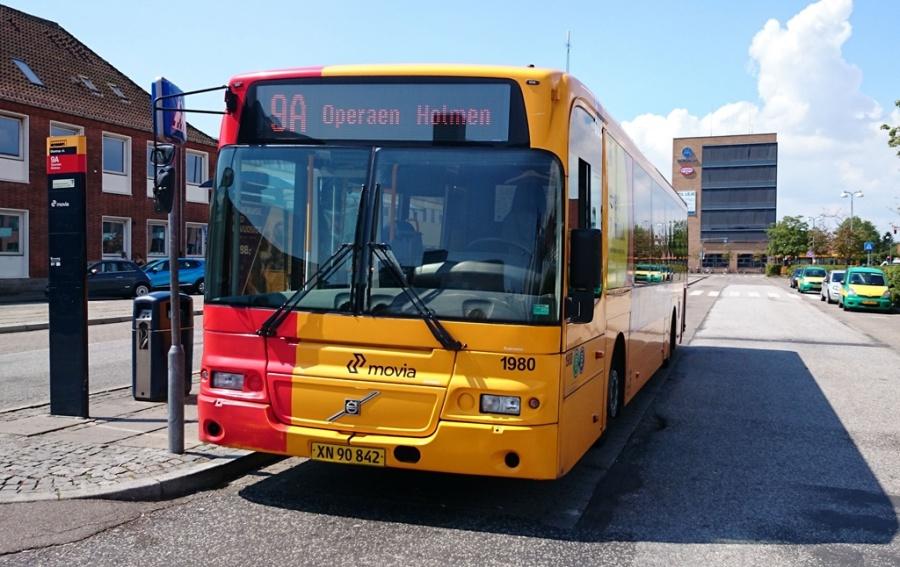 Arriva 1980/XN90842 på Glostrup station den 18. juli 2014