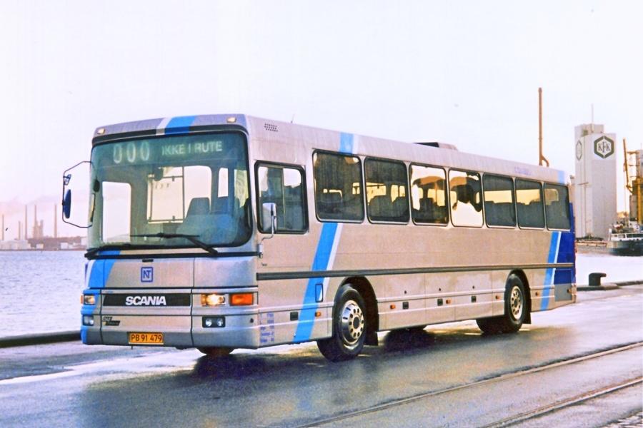 Combus 2540/PB91479 på Aalborg havn i 1998/1999