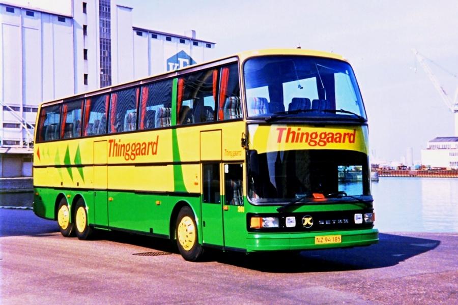 Thinggaard 241/NZ94185 på Aalborg havn i 1995