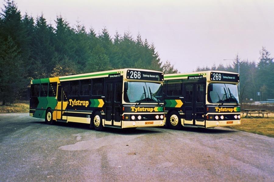 Tylstrup 46/NB97647 og 47/NB97648 ved leveringen