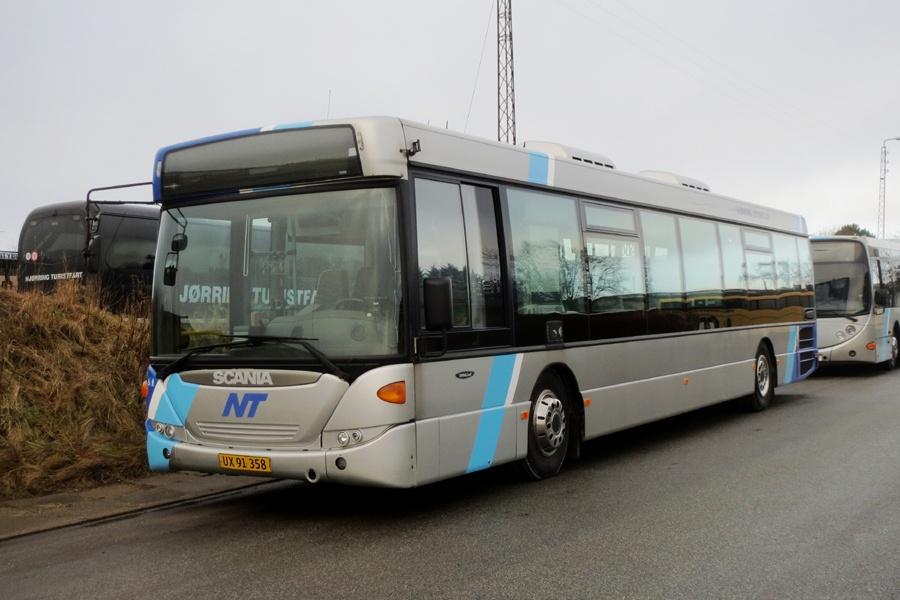 Hjørring Citybus 79/UX91358 i Hjørring den 19. januar 2017