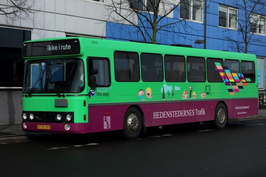 Hedensted Kommune VT93397 på Vejle Trafikcenter den 9. marts 2017
