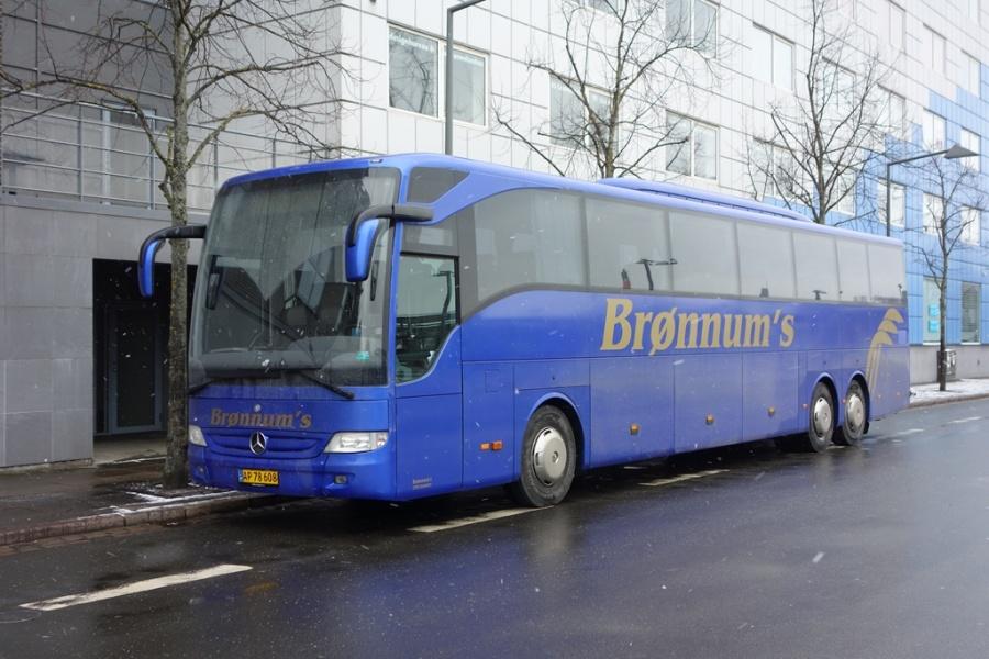 Brønnum 29/AP78608 på Vejle Trafikcenter den 7. februar 2017