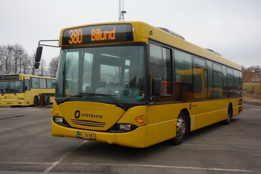 Umove 205/BL16881 på Gammelhavn i Vejle den 18. februar 2017