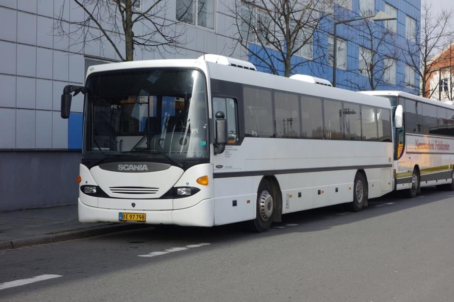 Nørremarkens Fritidscenter BE 97798 på Vejle Trafikcenter den 14. marts 2017
