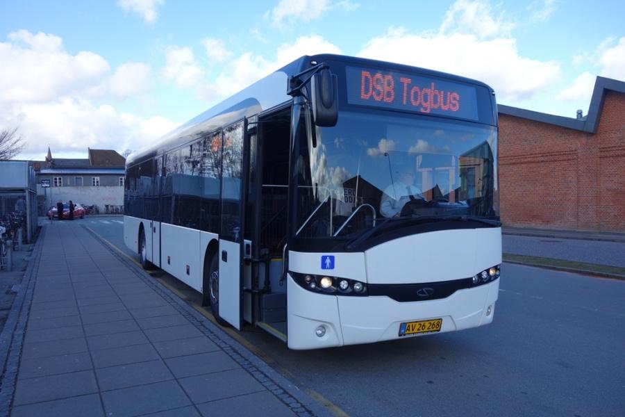 AV26268 i Danmarksgade i Vejle den 18. marts 2017