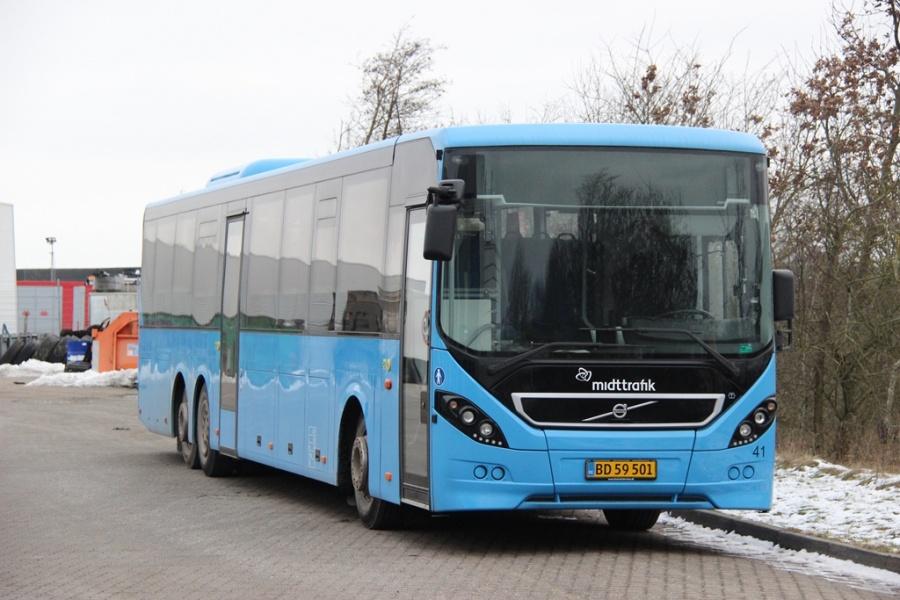 Skjern Bilen 41/BD59501 ved Bus Center Vest i Kolding den 12. februar 2017