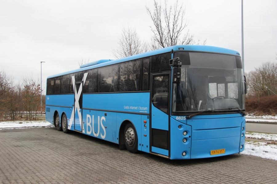 Tide Bus 8825/XN94857 ved Bus Center Vest i Kolding den 12. februar 2017