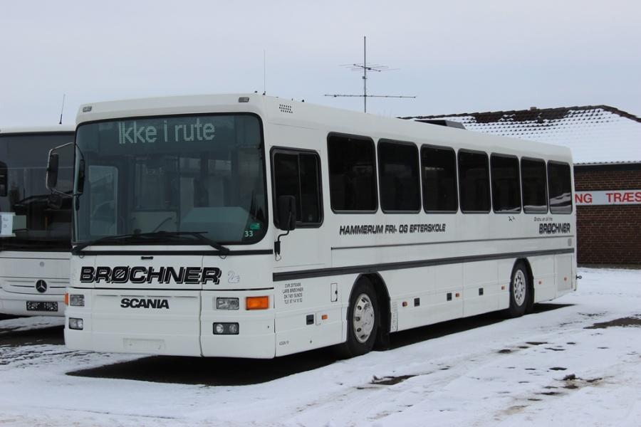 Brøchners Biler 19 ved Dansk Bus Renovering i Tørring den 12. februar 2017