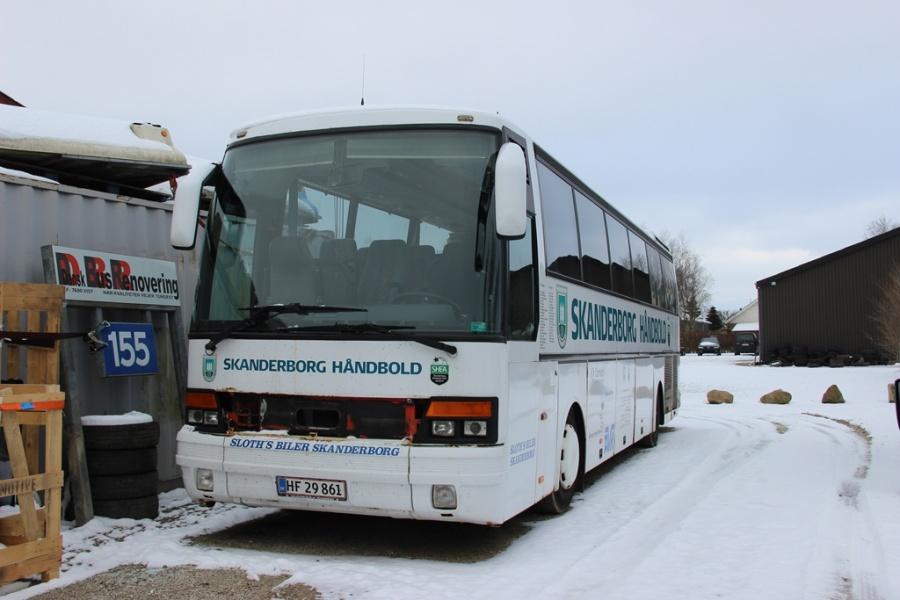 Skanderborg Håndbold HF29861 ved Dansk Bus Renovering i Tørring den 12. februar 2017