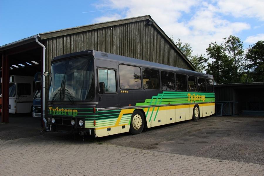 Tylstrup 18 ved Danmarks Busmuseum i Skælskør den 20. maj 2017