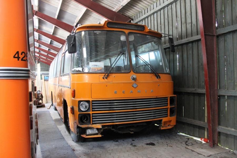 Danmarks Busmuseum i Skælskør den 20. maj 2017