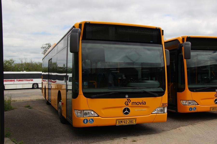 Egons Turist- og Minibusser 3812/XM92281 i Skælskør den 20. maj 2017