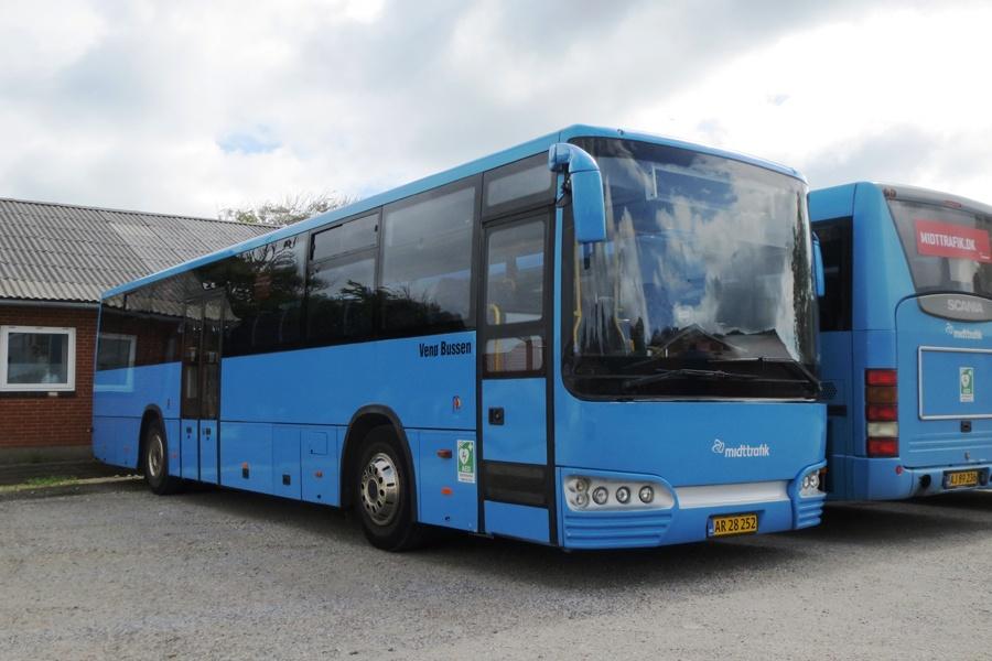 Venø Bussen AR28252 i Hvidbjerg den 20. juni 2017