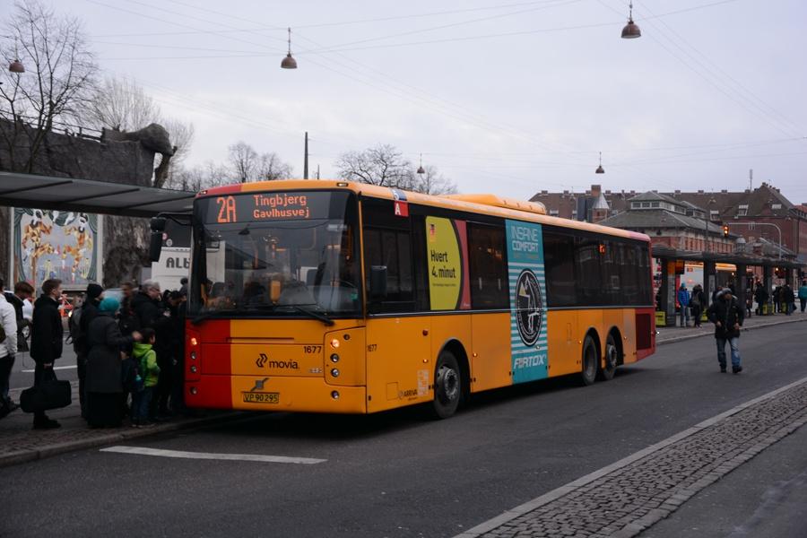 Arriva 1677/VP90295 ved Københavns Hovedbanegård den 26. januar 2016
