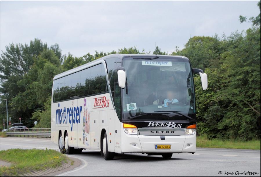 Bæks Bus DW12814 på Vestermark i Sønderborg den 22. juli 2017