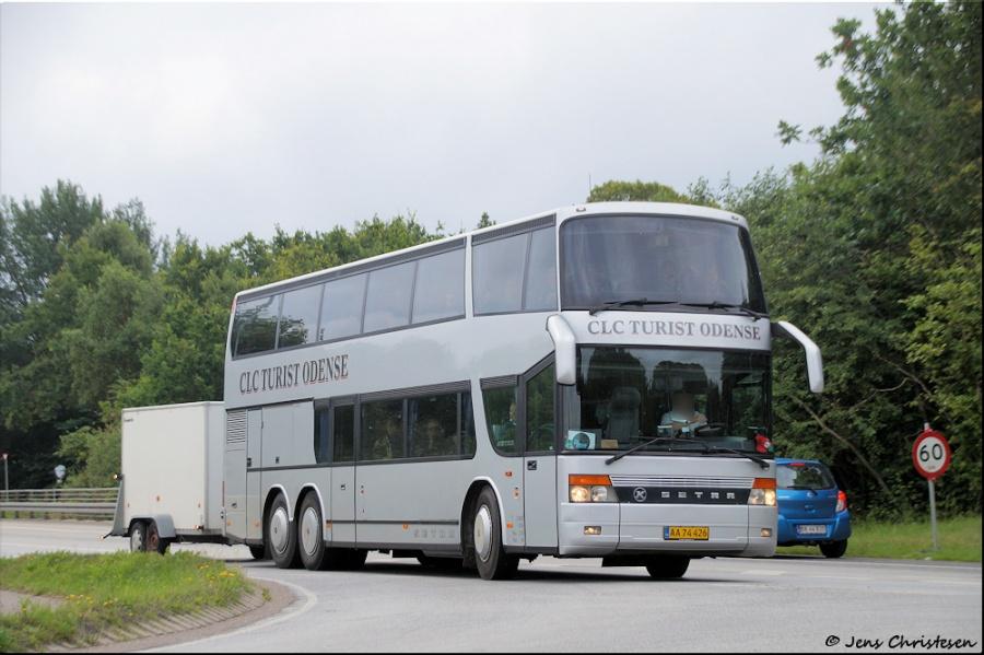 CLC Turist AA74426 på Vestermark i Sønderborg den 22. juli 2017