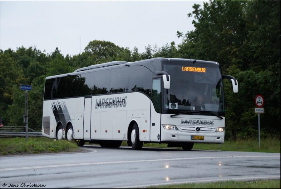 Københavns Bustrafik 61/BK26492 på Vestermark i Sønderborg den 22. juli 2017