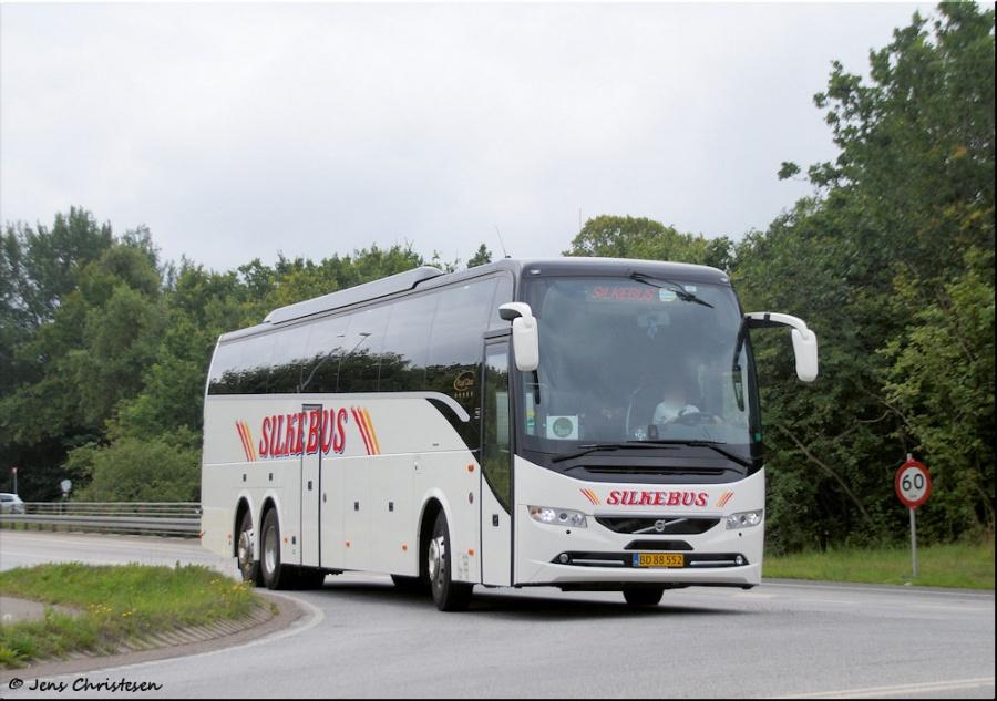 Silkebus 7/BD88552 på Vestermark i Sønderborg den 22. juli 2017