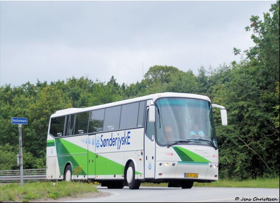 Sønderjyske Turistfart AB41141 på Vestermark i Sønderborg den 22. juli 2017