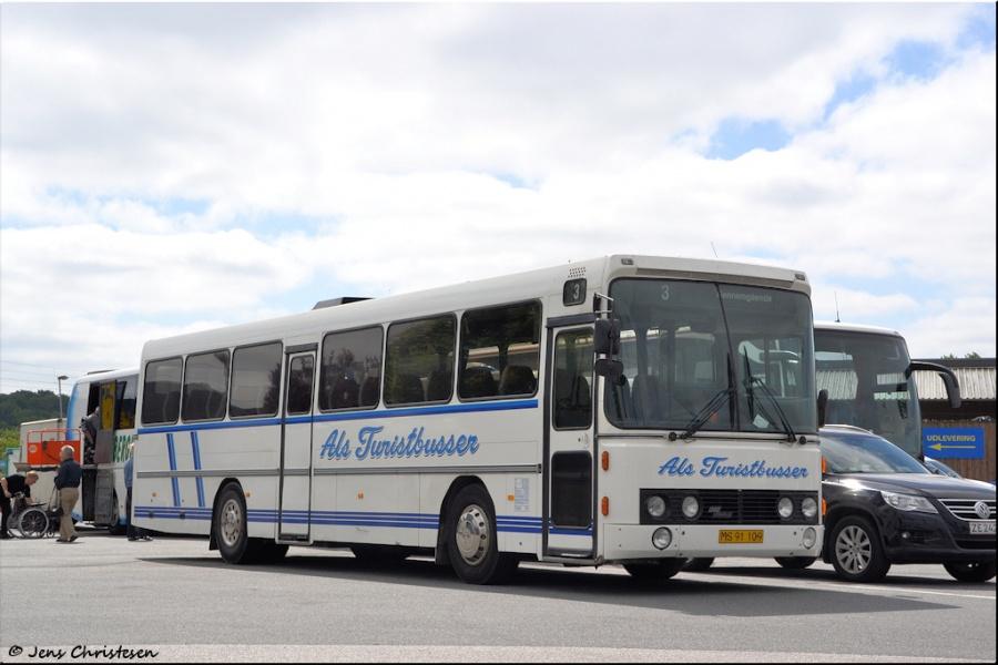 Als Turistbusser MS91109 i Harrislee i Tyskland den 9. juni 2013