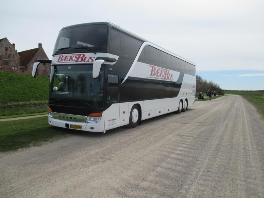 Bæks Bus AG90694 i Spøttrup den 3. maj 2017