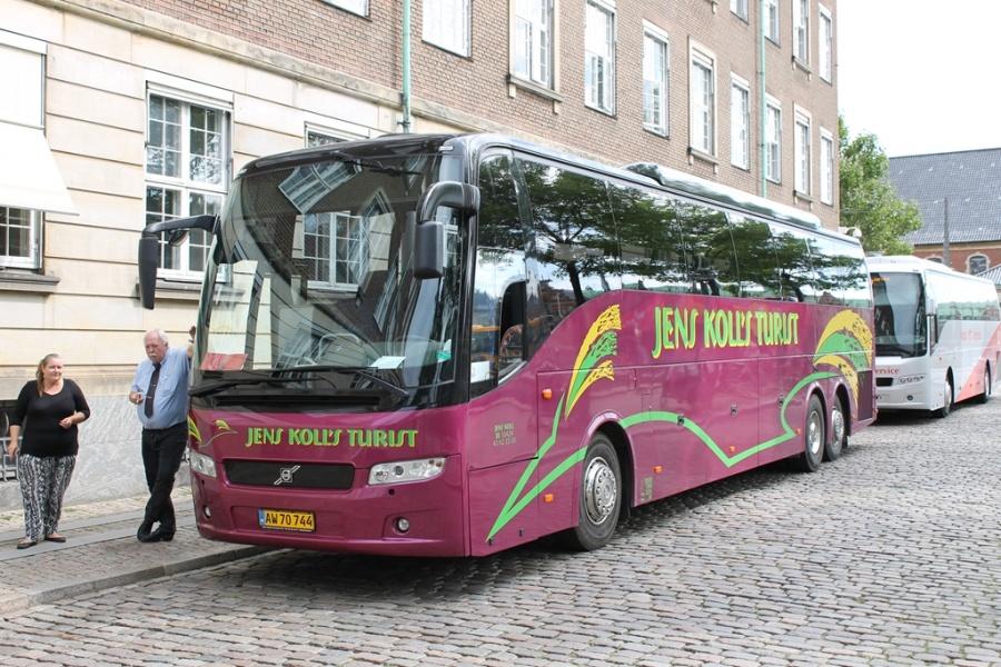 Jens Kolls Turist AW70744 på Gammelstrand i København den 15. august 2017