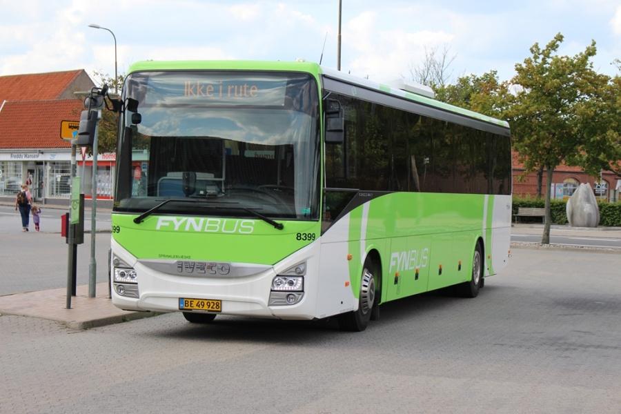 Tide Bus 8399/BE49928 i Kerteminde den 7. august 2017