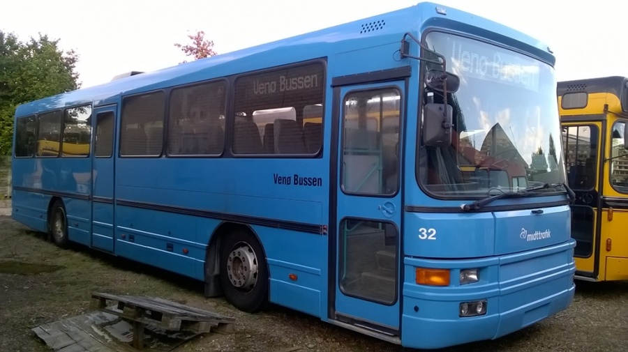 Ex. Venø Bussen 32 ved Ans Busservice den 19. august 2017