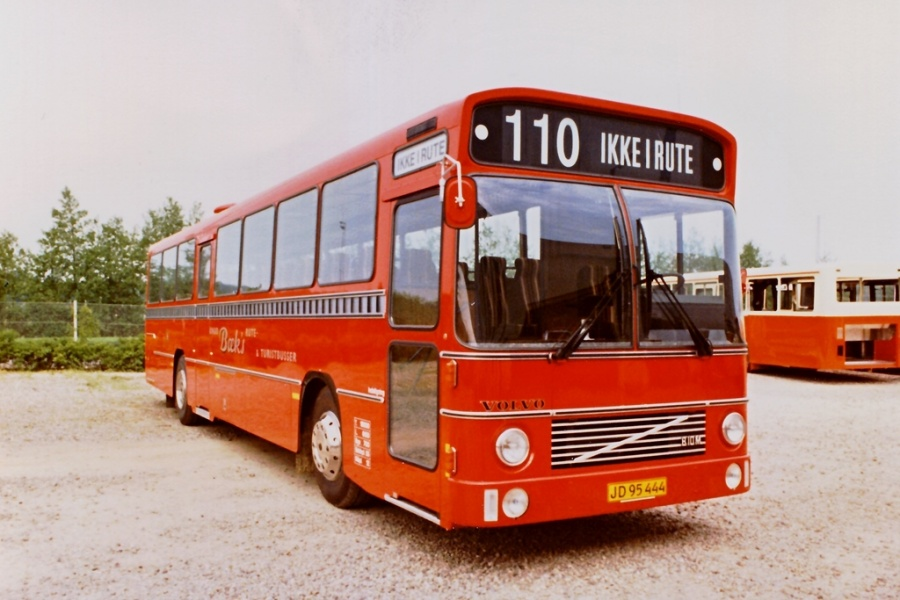 Knud Bæks Rute- og Turistbusser i 1983