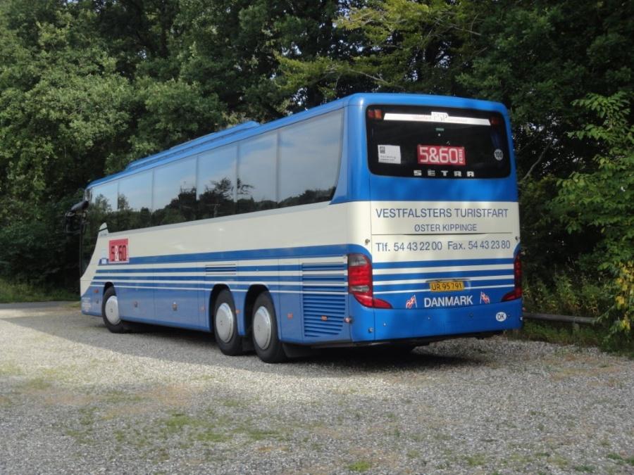 Vestfalsters Rute- og Turistfart UR95791 i Nordjylland den 28. juli 2013