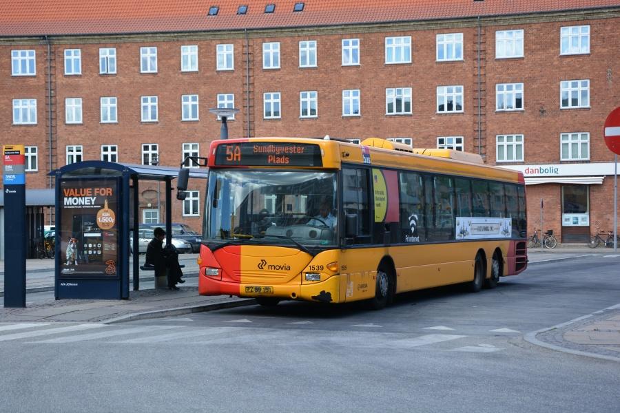 Arriva 1539/TZ89151 på Sundbyvester Plads på Amager den 10. juni 2016