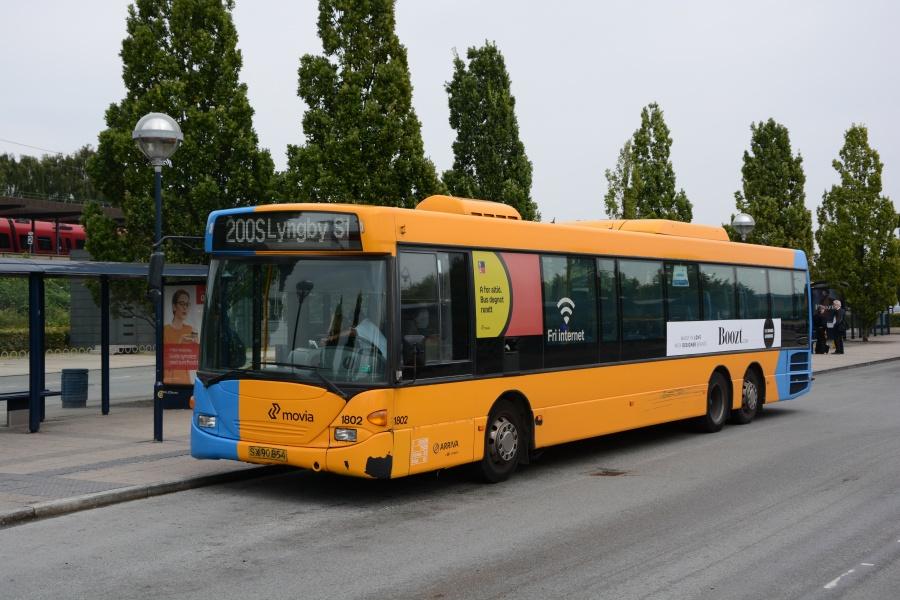 Arriva 1802/SX90854 på Friheden Station den 7. september 2016.