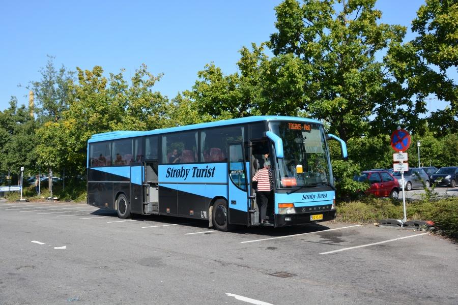 Strøby Turist 8605/BG95245 på Køge Station den 9. september 2016