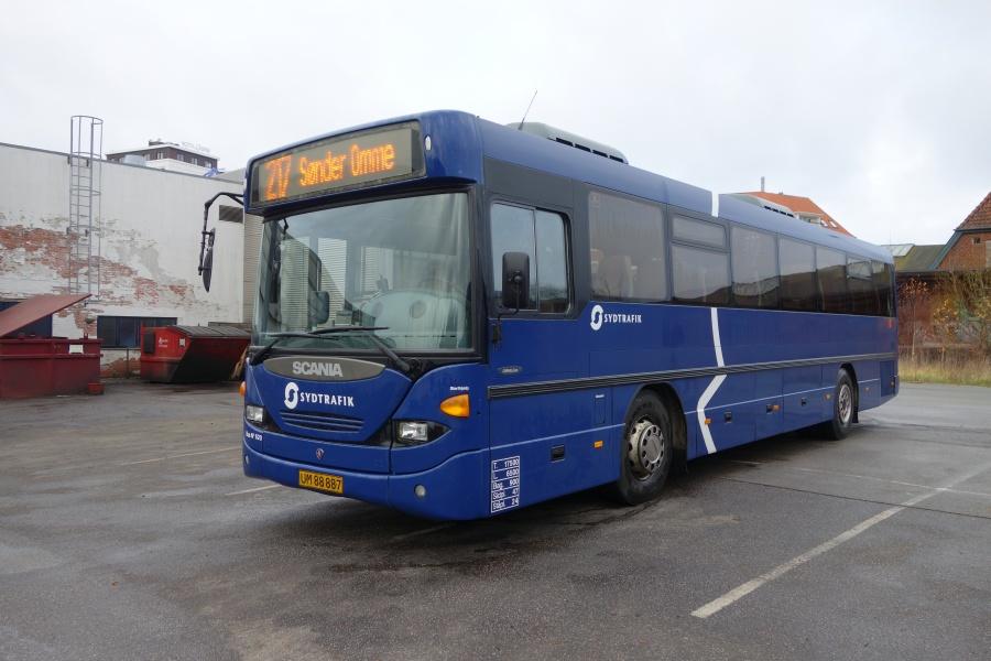 Umove 620/UM88887 på Gammelhavn i Vejle den 1. december 2017