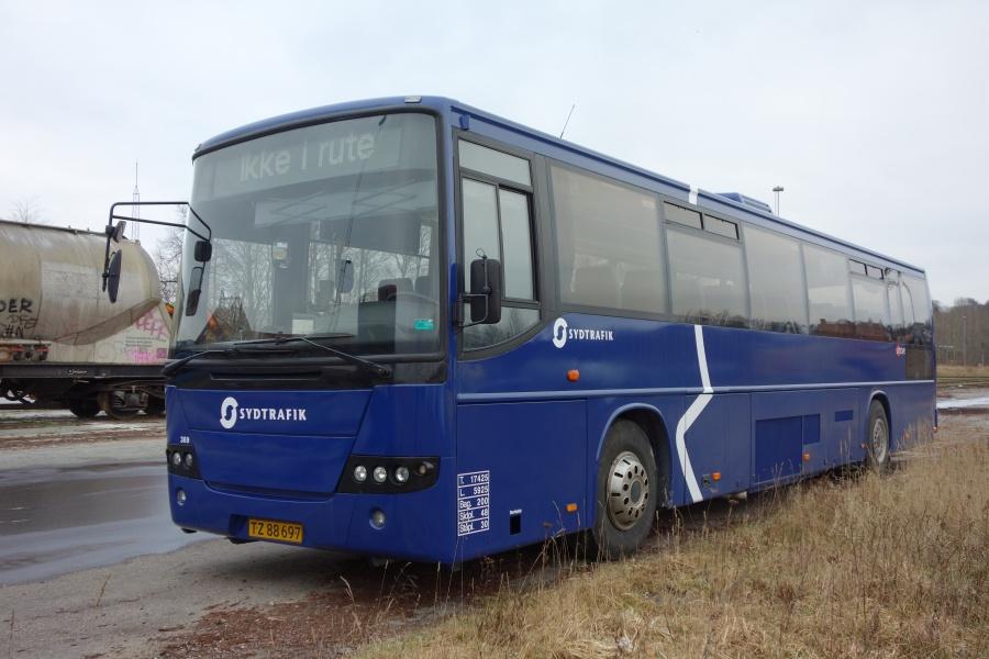 Umove 369/TZ88698 på Gammelhavn i Vejle den 4. februar 2018